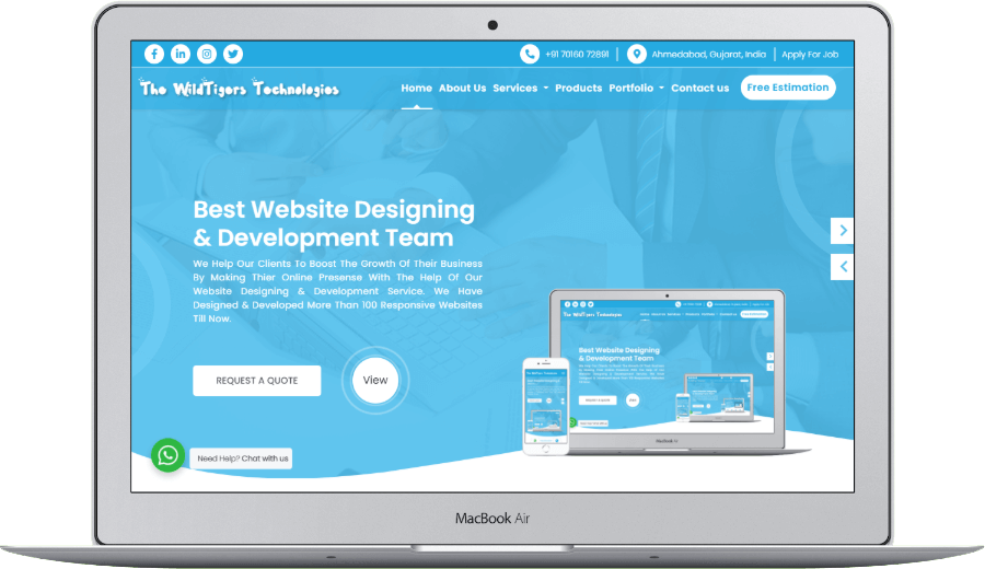 Best Website Designing & Development Team