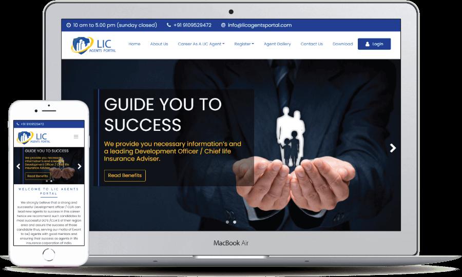Lic Agents Portal