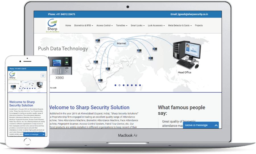 Sharp Security Solution